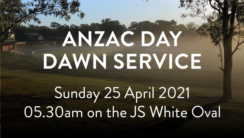 ANZAC Day Dawn Service banner
